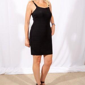 Express Black Body Con Dress
